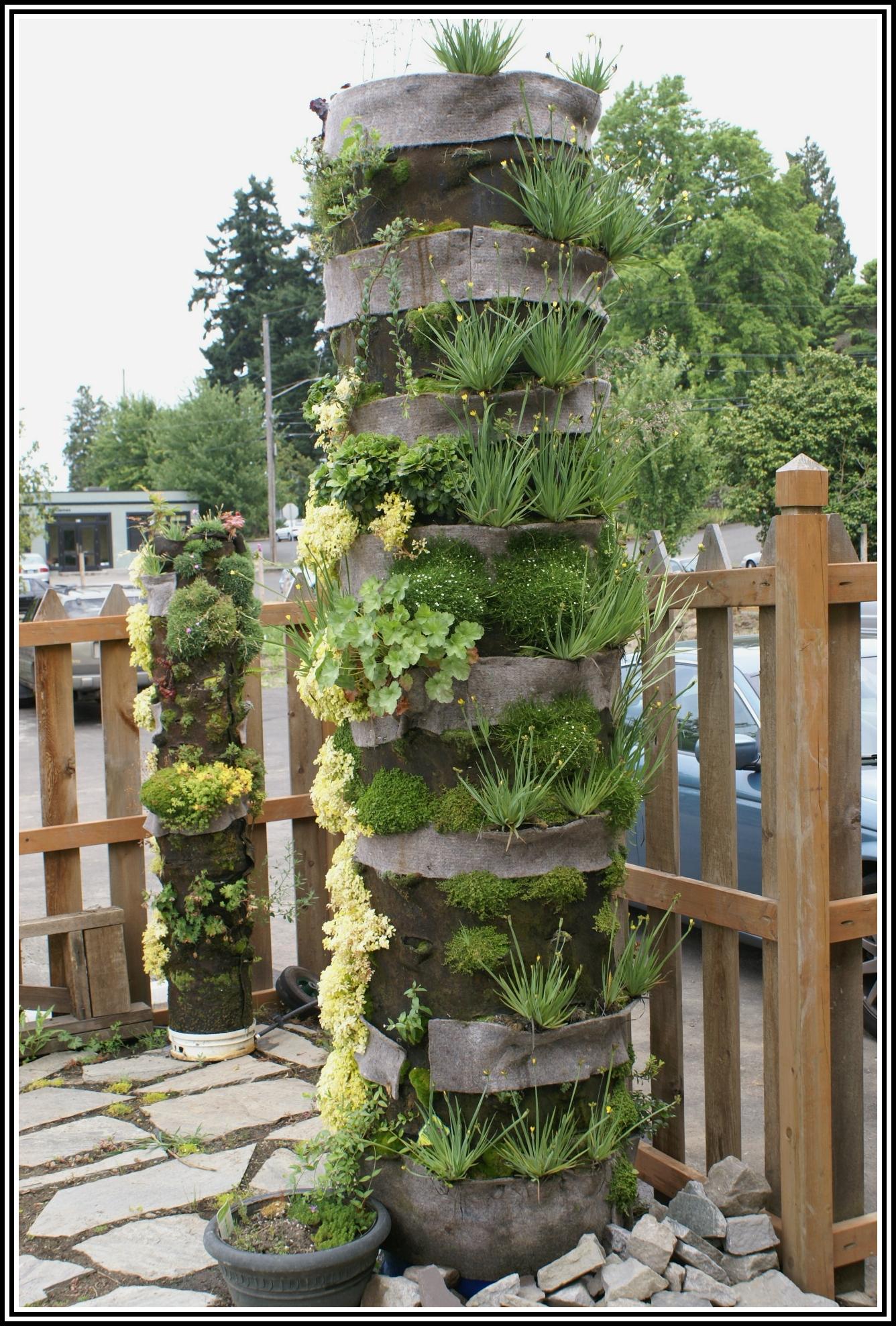 Modern zahrady semiramidiny - Jardines verticales paso a paso ...