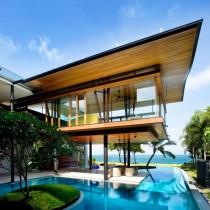 Dům nad i pod vodou