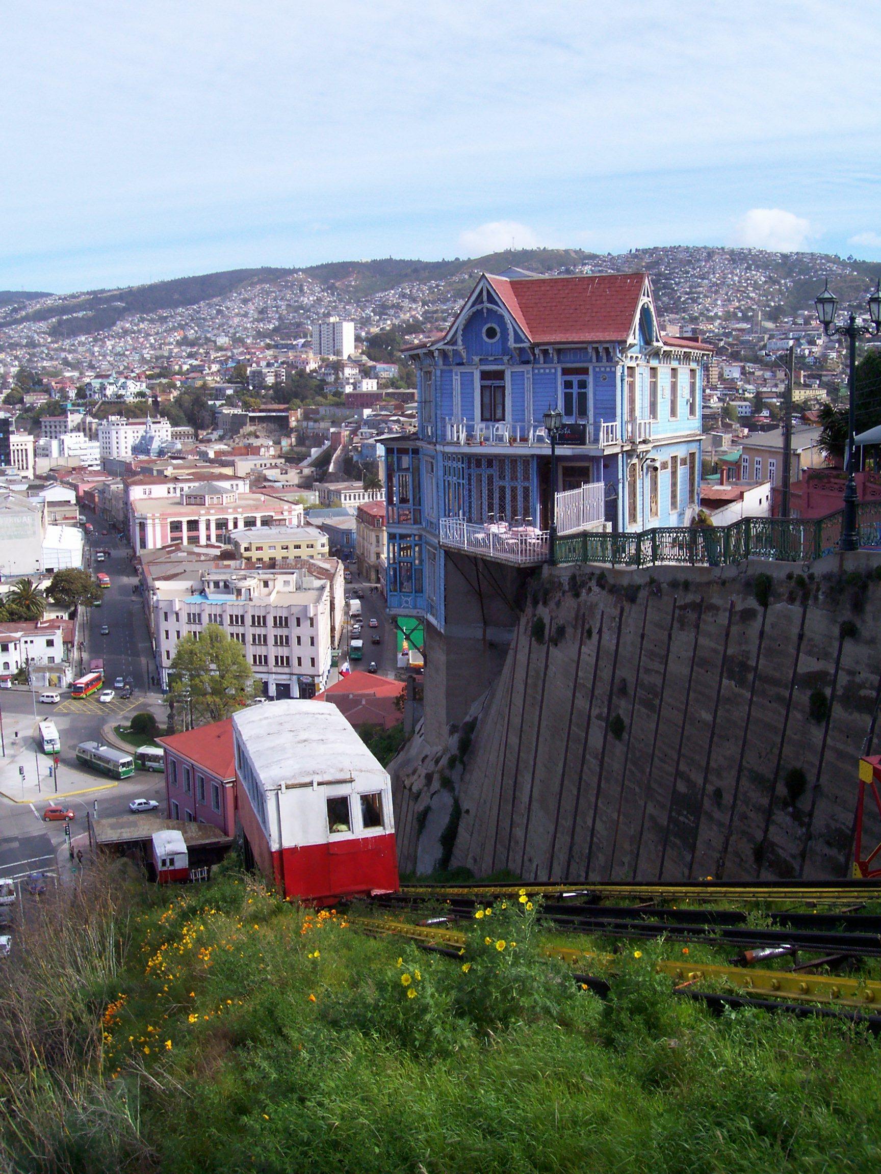 Valparaiso - město plné výtahů