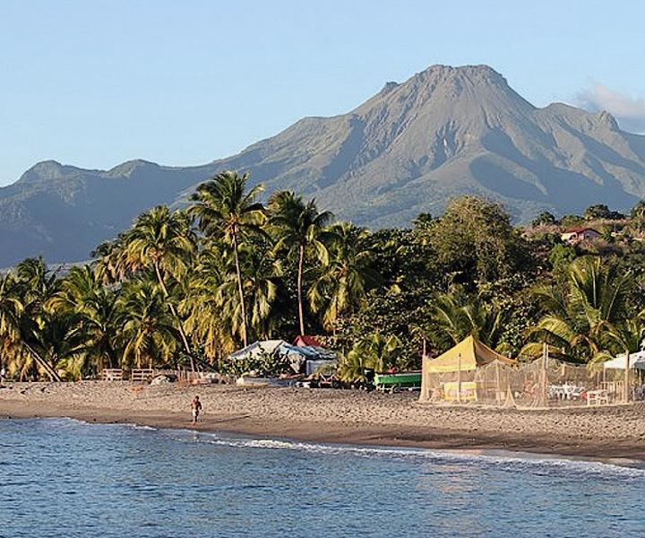 Nejvyšším bodem Martiniku je hora Mont Peleé